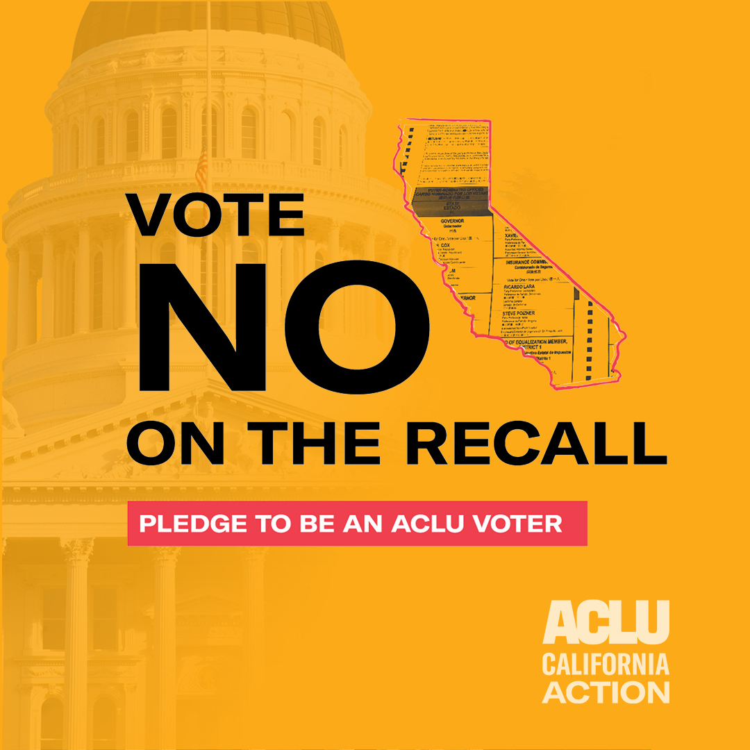 VOTE NO ON RECALL
